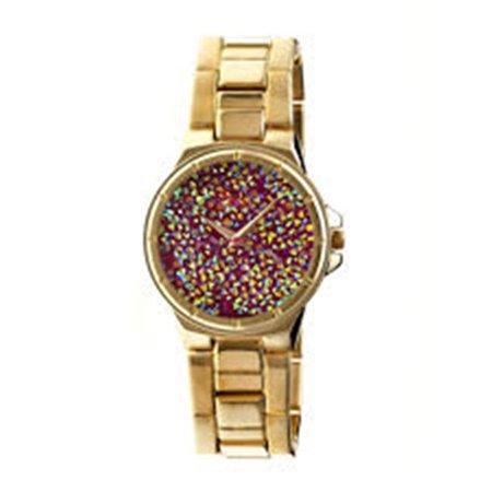 Boum BOUBM2304 Cachet Metal Watch for Women, Gold - image 1 de 1