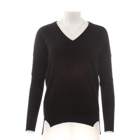 C By Bloomingdales  238 New 13323 100  Cashmere V Neck Womens Top Xs
