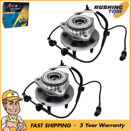 Mercury Mountaineer Wheel Bearings (2 Front Wheel Hub Bearing For Ford Explorer Ranger Mercury Mountaineer Mazda)