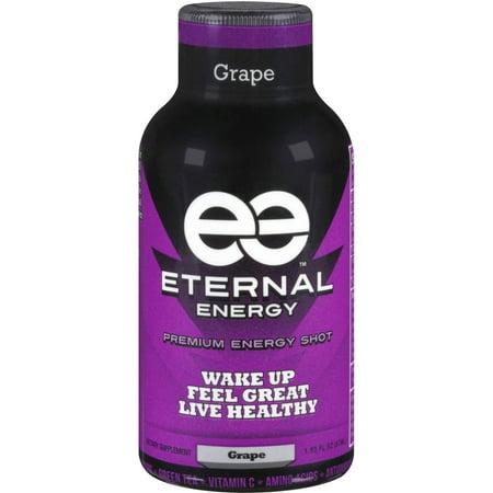 Eternal Energy Grape Premium Energy Shot 1 93 Fl Oz
