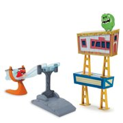 Angry Birds, Sling and Smash Track Set with Red Action Figure