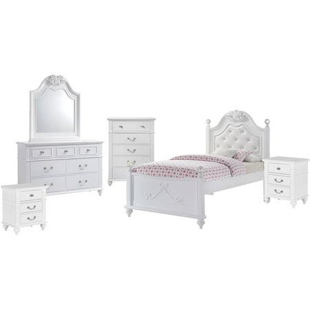 Twin Platform Bedroom Storage Trundle