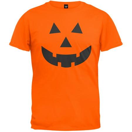 Jack-O-Lantern Face T-Shirt for $<!---->
