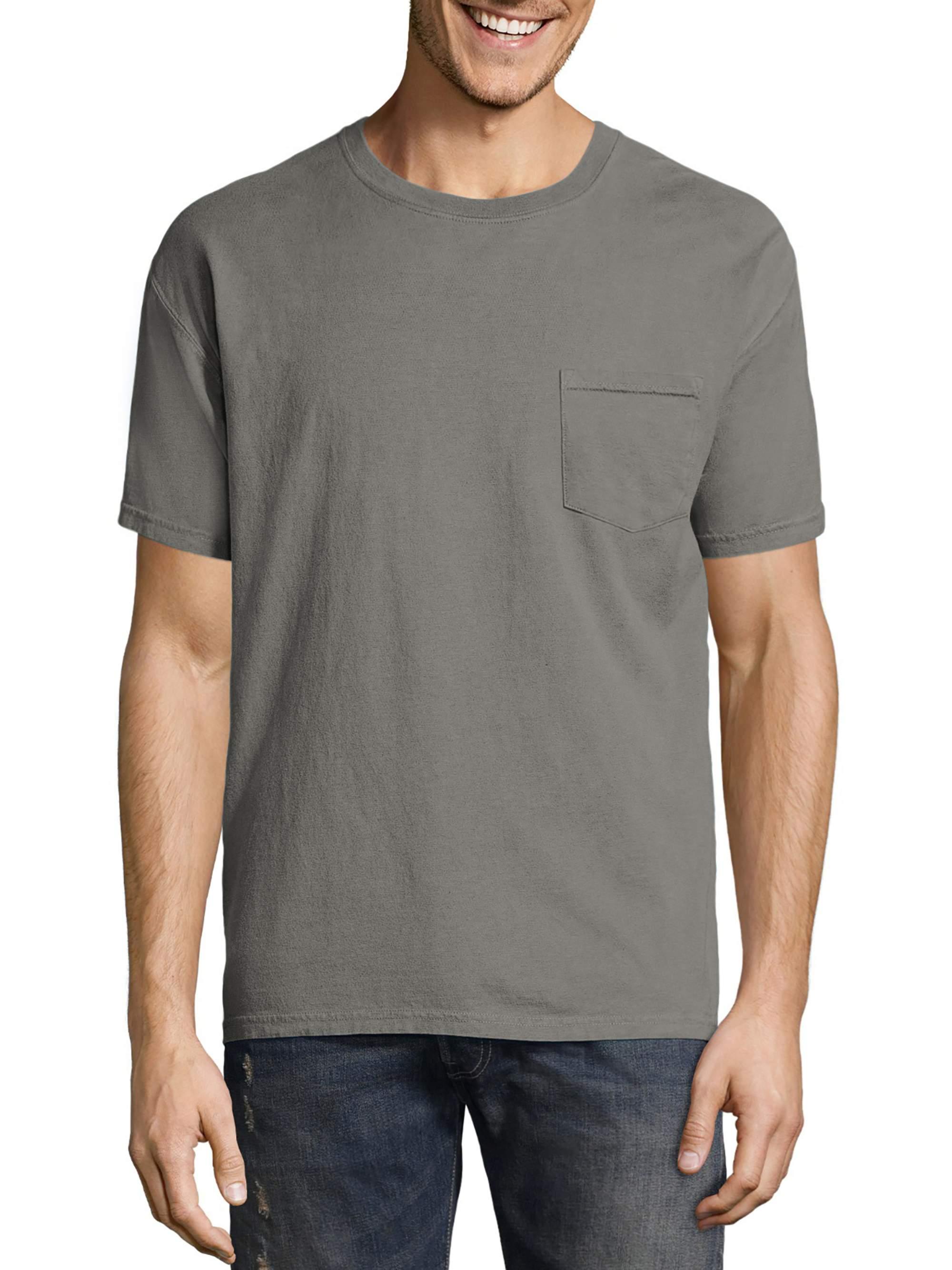 Men's ComfortWash Garment Dyed Short Sleeve Pocket Tee