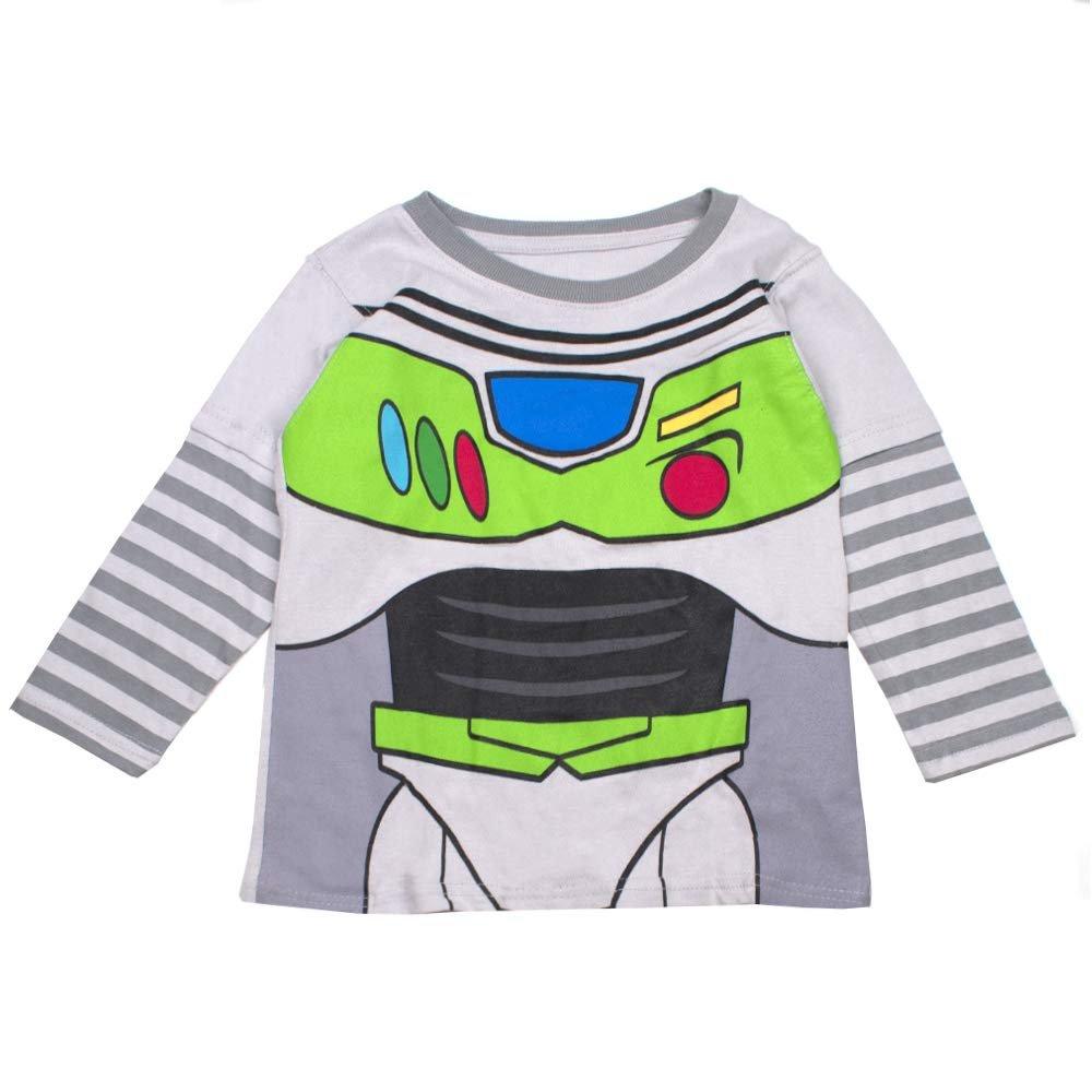 Toy Story T-ShirtKids Mr Potato Head TeeBoys Woody Buzz Lightyear Top