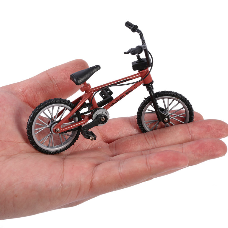 Mini Size Simulation Alloy Finger Bike Children Kid Funnt Mini Finger Bike Toy