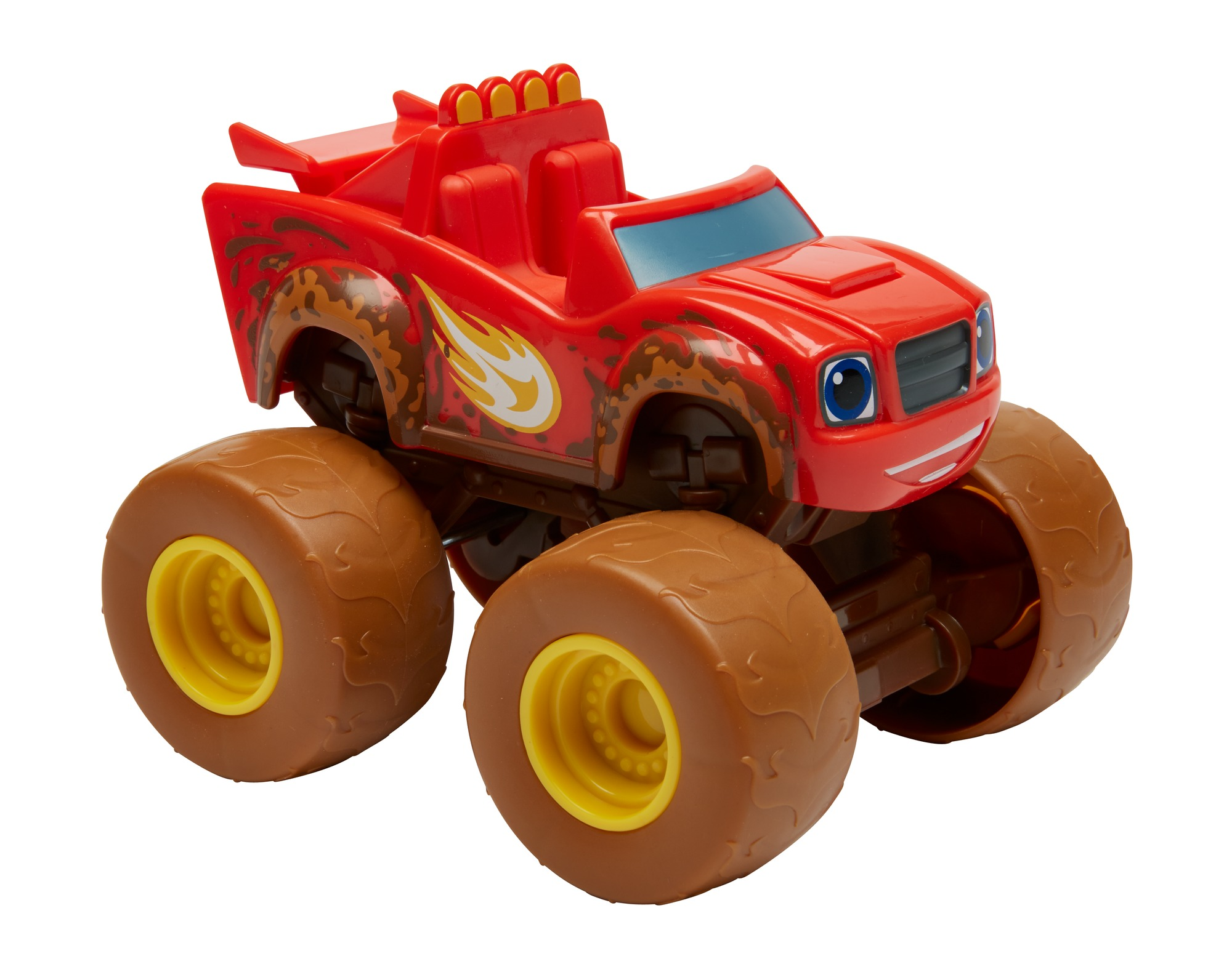 Fisher Price Nickelodeon Blaze And The Monster Machines Talking Mud Fest Blaze by FISHER-PRICE BRANDS A DIVISION OF MATTEL DIRECT IMPORT INC