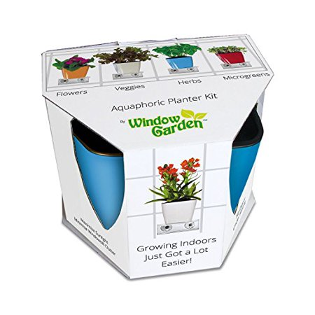Aquaphoric indoor garden kit self watering planter window shelf aquaphoric indoor garden kit self watering planter window shelf fiber soil thriving workwithnaturefo