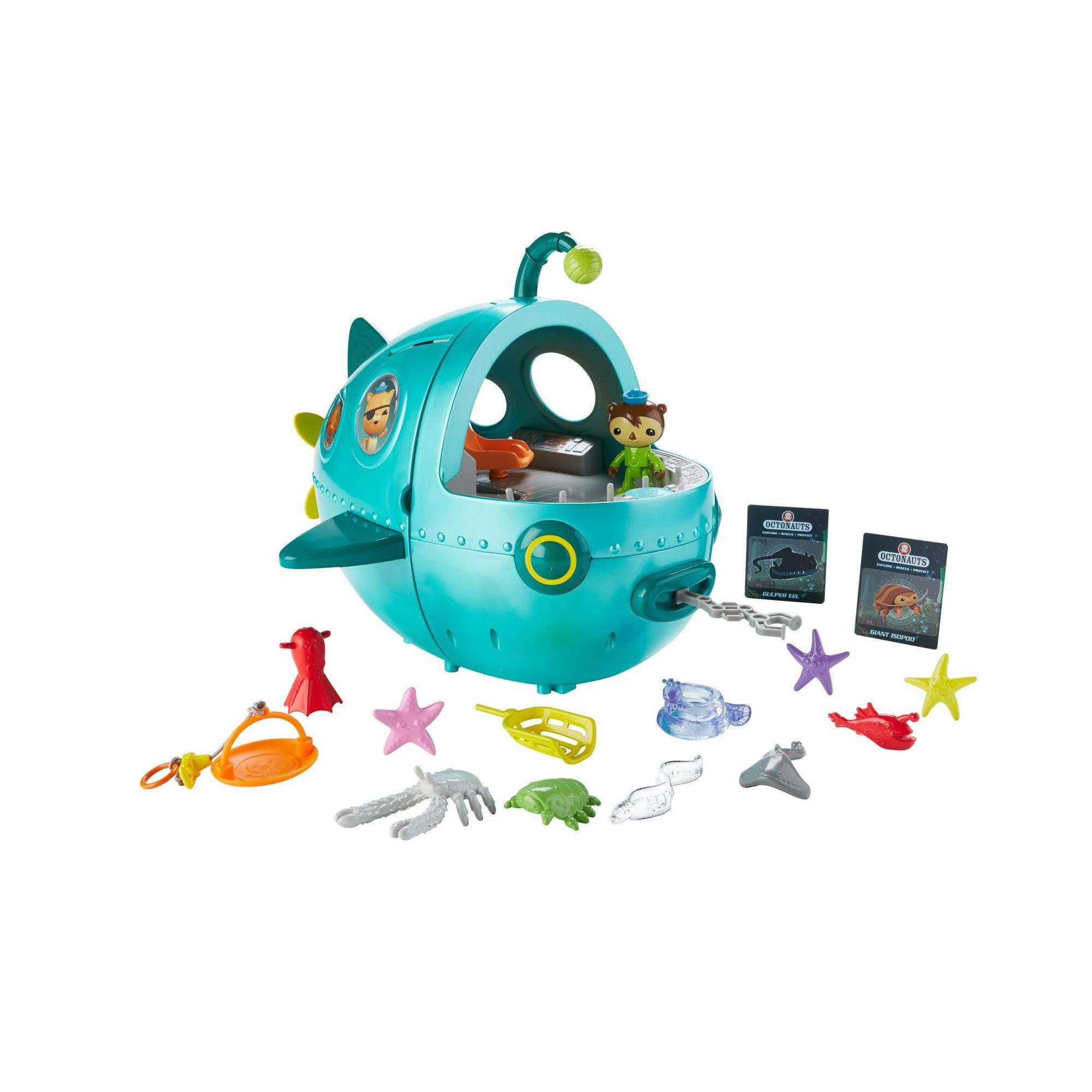 Fisher-Price Octonauts Midnight Zone Gup-A Vehicle /& Figure Playset