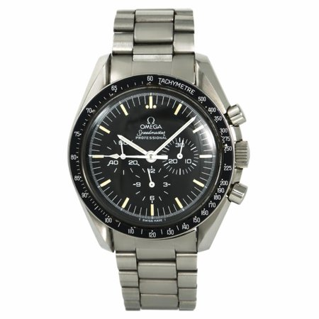 Pre-Owned Omega Speedmaster  145.022. Steel  Watch (Certified Authentic & (Omega Speedmaster Chronometer)