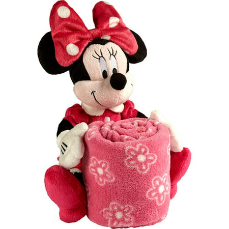 Disney Minnie Mouse Plush With Blanket Walmart Com