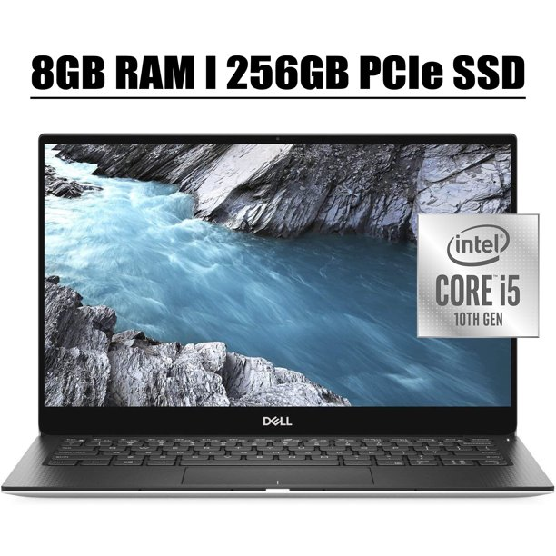 "2020 Latest Dell XPS 13 7390 Flagship Laptop Computer 13.3"" FHD Display Intel Quad-Core i5-10210U 8GB DDR4 256GB PCIe SSD WIFI HDMI Backlit Fingerprint Thunderbolt WIFI Win 10"