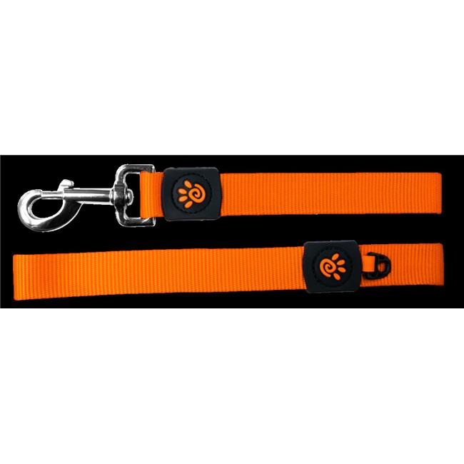 Doco DCS2072-06L 6 ft. Easy-Snap Nylon Dog Leash with Neoprene Handle, Purple - Large