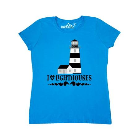 I Love Lighthouses Women's (Lighthouse Top)