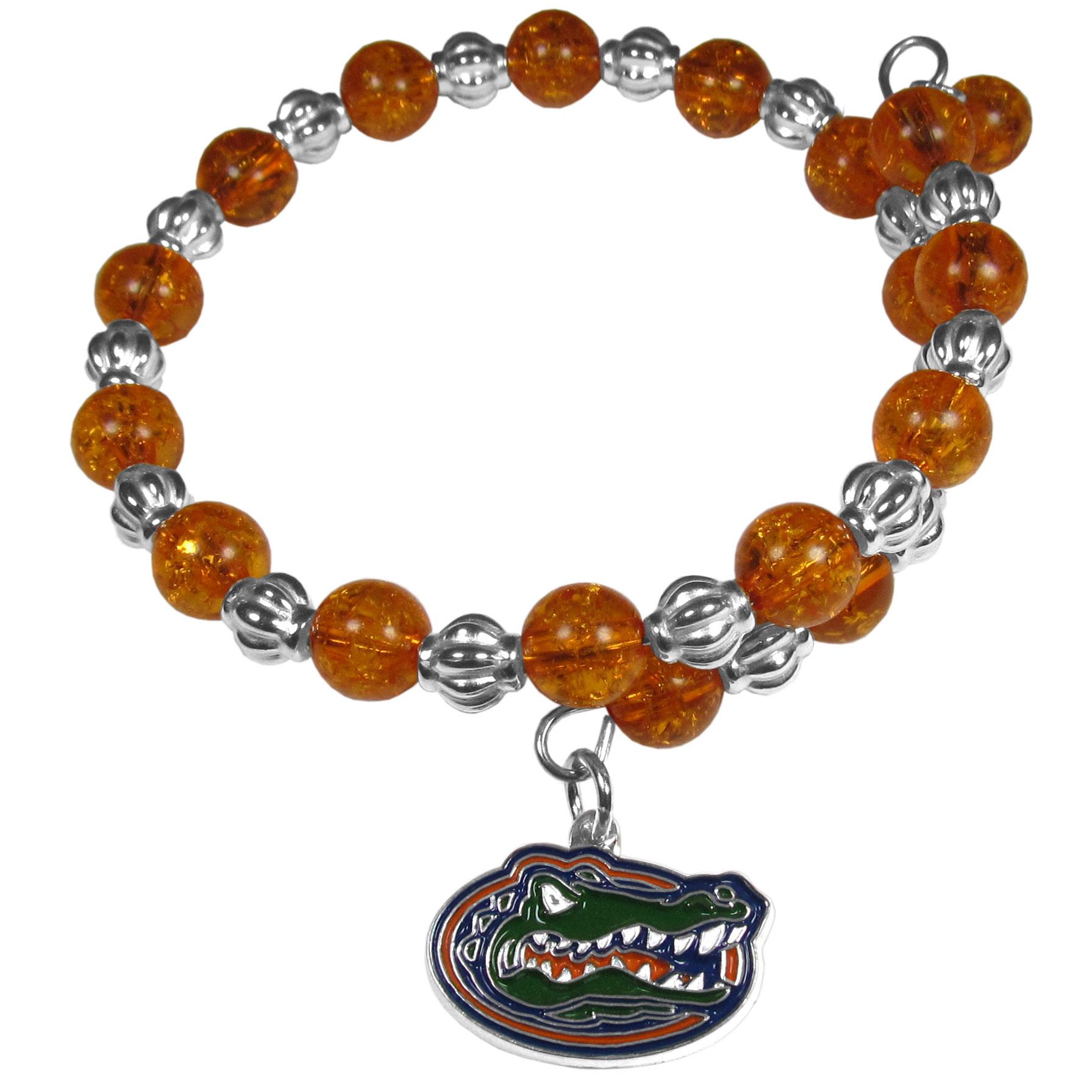 NCAA Florida Gators Snowflake Bracelet