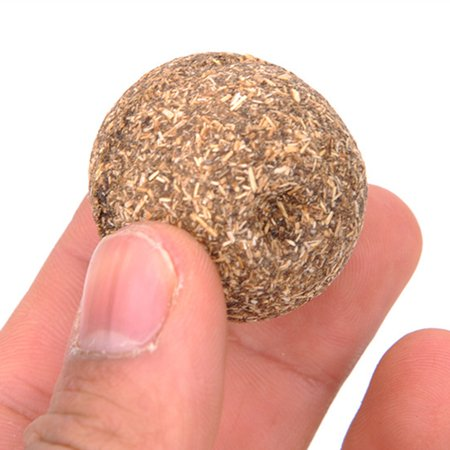 Cheers 1Pc Natural Catnip Healthy Funny Treats Ball Pet Kitten Cat Playing Relaxing Toy - image 6 of 7