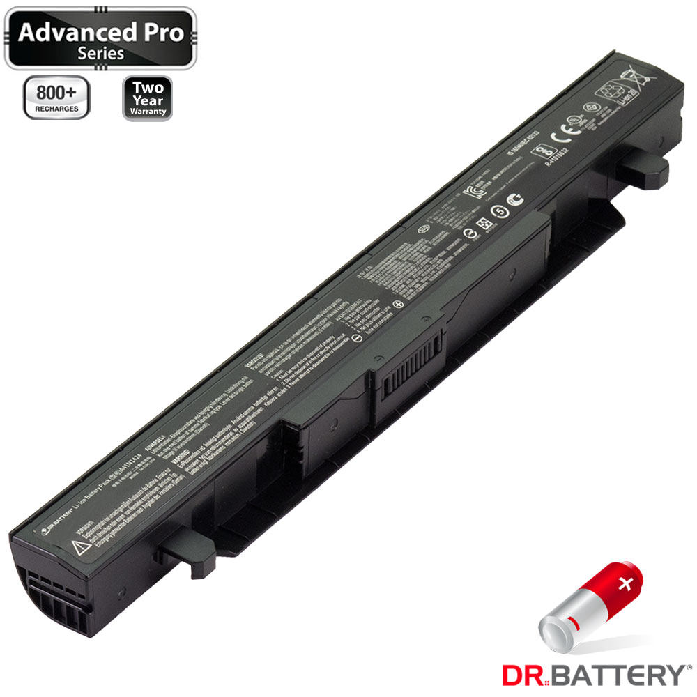 Dr. Battery - Samsung SDI Cells for Asus ROG GL552JX / ROG GL552V / ROG GL552VL / ROG GL552VW / ROG GL552VX / ROG ZX50 / ROG ZX50J / ROG ZX50JX / 0B110-00350000 / 0B110-00350300 / A41N1424 - image 3 of 5