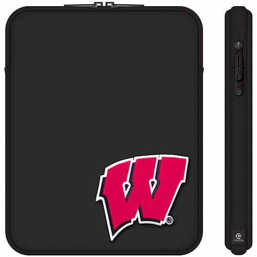 "Centon 10"" Classic Black Tablet Sleeve UW - Madison"