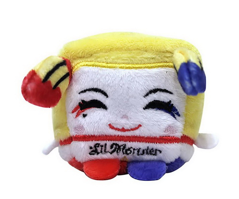 """Commonwealth Toys CMN-99505-C Suicide Squad 2.5"""" Kawaii Cube Plush: Harley Quinn by Commonwealth Toys"""