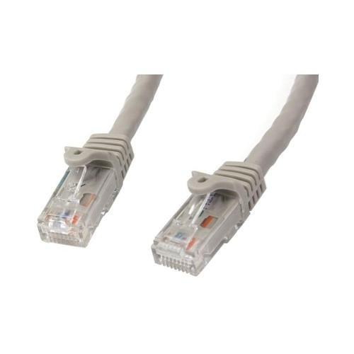 Startech dot com StarTech dot com 5 ft Gray Gigabit Snagless RJ45 UTP Cat6 Patch Cabl...