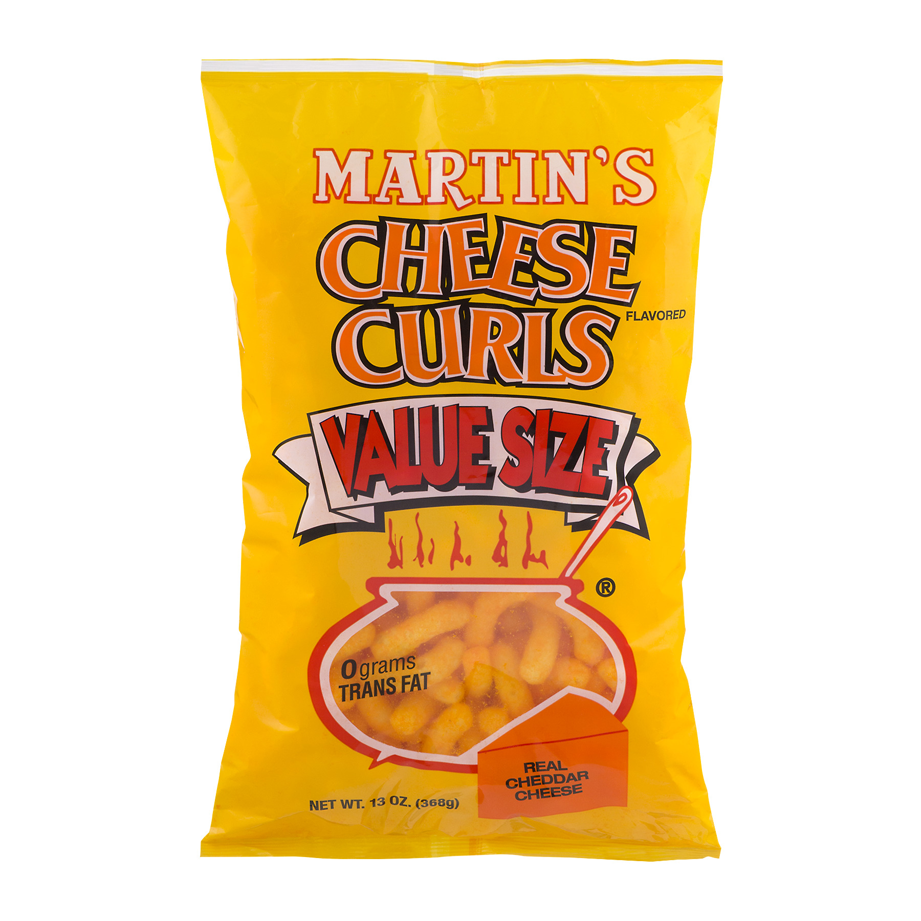 Martin's Cheese Curls Value Size, 13.0 OZ