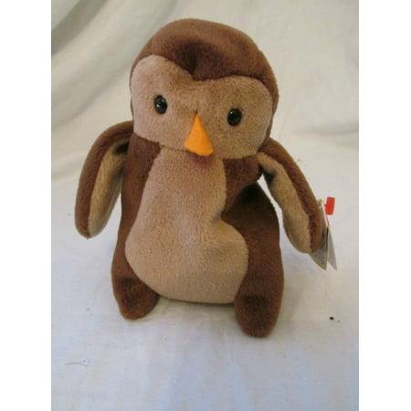 Ty Beanie Babies Hoot the Owl Plush Toy - 6