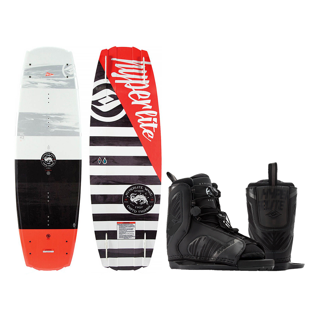 HYPERLITE FRANCHISE 141CM WAKEBOARD WITH REMIX BOOT by Hyperlite