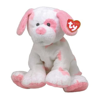 Ty Baby Pups - Pink Dog Baby Pups - Pink Dog