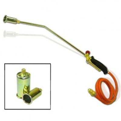Propane Gas Down Roofing Flame Thrower Gun Torch Tool Weed Brush Burner Burning by