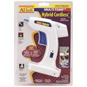 AdTech Hybrid Multi-Temp White Cordless Glue Gun, 1 Each