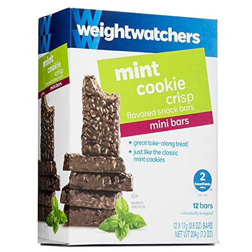 Weight Watchers Mint Cookie Crisp Mini Snack