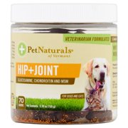 Hip and Joint Daily Joint Supplement for Cats and Dogs, 70 Bite Sized Chews