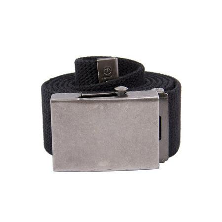 Gelante Canvas Web Belt Military Style Belt (Canvas Belt)
