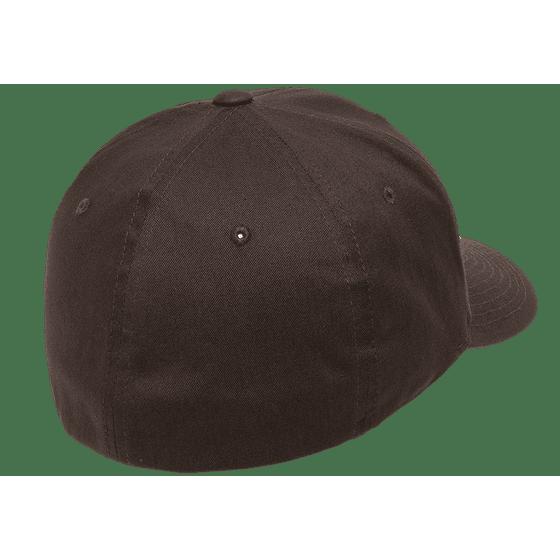 b10a319262c54c The Hat Pros Blank Flexfit V-Flexfit Cotton Twill Fitted Hat Cap Flex Fit  5001 XXL – Brown - Walmart.com