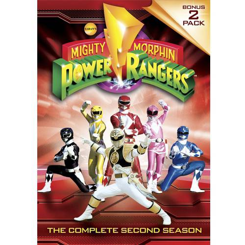Mighty Morphin Power Rangers: The Complete Second Season (Full Frame)