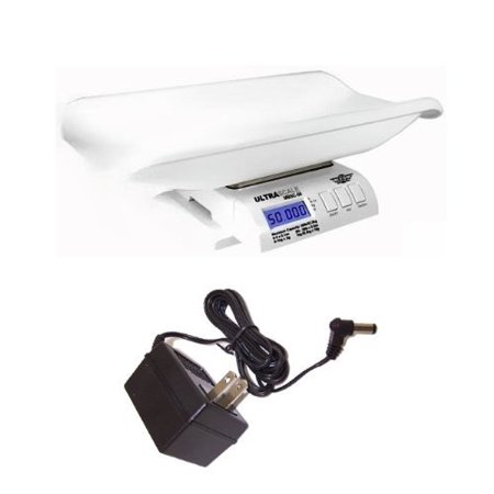 My Weigh Ultrascale Baby MBSC-55 Digital Baby Scale With Power Supply Adapter