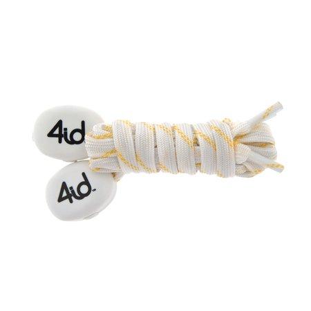 4id PowerLacez Light Up Shoelaces White