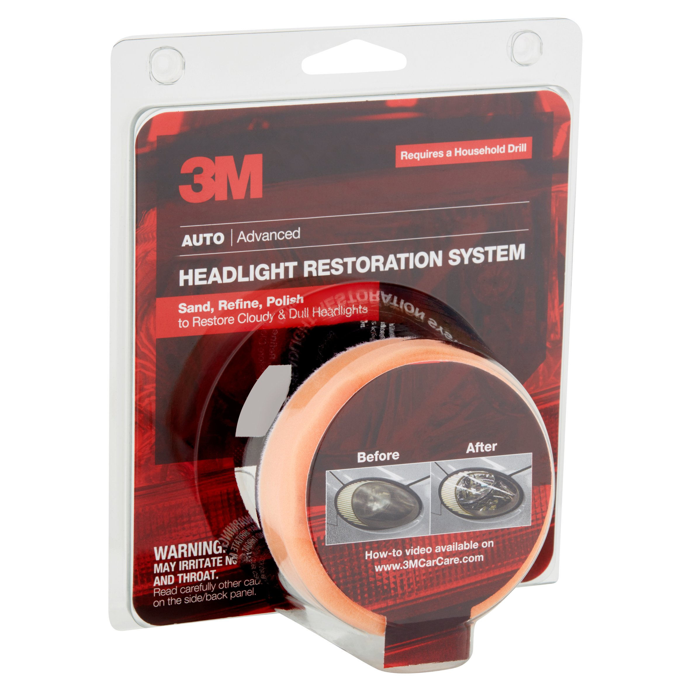 3M Auto Advanced Headlight Restoration System ONLY $9.40 (reg $18.40)