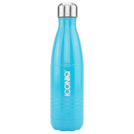 ICONIQ Stainless Steel Vacuum Insulated Water Bottle, 17oz (Gloss