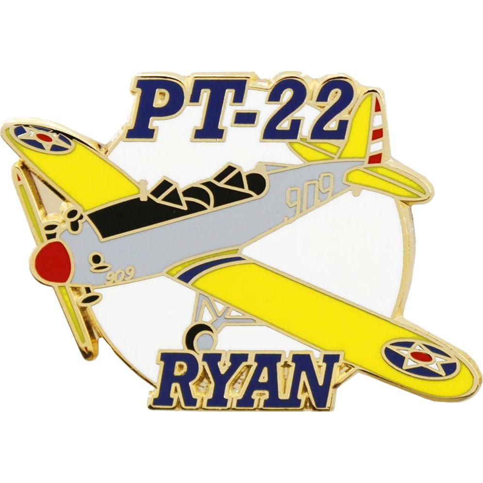 PT-22 Ryan Airplane Pin 1 1/2