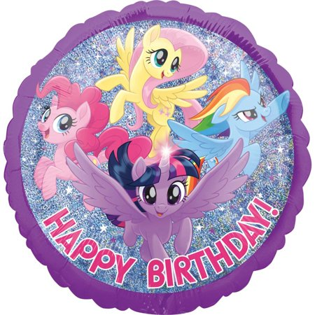 Todays My Birthday (My Little Pony Birthday Friendship Adventure Foil Balloon 18