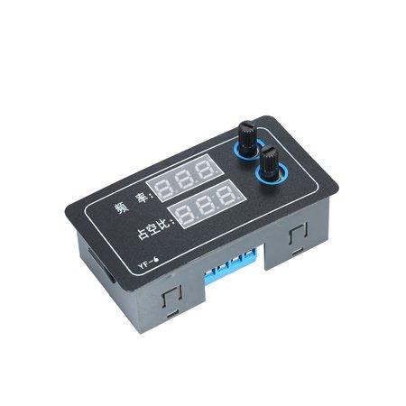 Sync Pulse Generator - Signal Generator 1Hz-100KHz PWM Pulse Adjustable Frequency Duty Cycle Duty Ratio Rectangular Square DC 3.3V-20V Digital Display Functional Signal Generator Driver Module