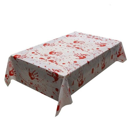 TURNTABLE LAB 130*260cm Halloween Tablecloth Party Layout Decoration Table Cover - Halloween Tumblr Layouts