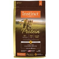 Instinct Ultimate Protein Grain-Free Cage Free Chicken Recipe Natural Dry Cat Food by Nature's Variety, 10 lb. Bag