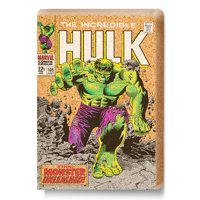 """Marvel"", ""Hulk"" Corkboard with 15 Green & Purple Thumbtacks"
