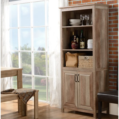 August Grove Banat Display China Cabinet by
