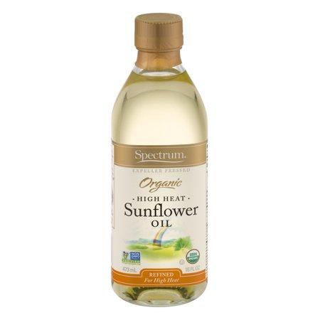 Spectrum organic sunflower oil