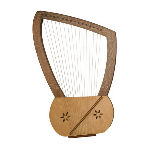 Mid-East Lyre Harp, 16 String