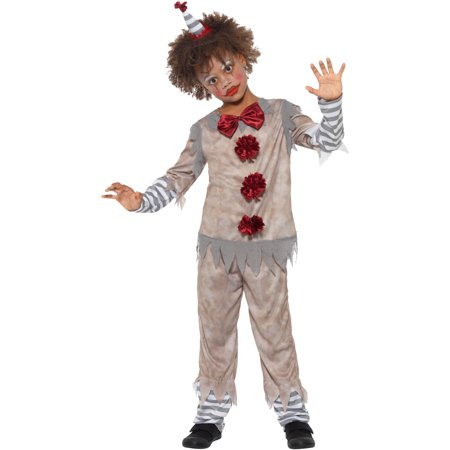 Boy's Vintage Circus Carnival Clown Costume