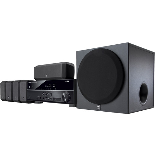 Click here to buy Yamaha 5.1-Channel 600 Watt Bluetooth 3D Surround Sound Home Theater System by Yamaha.